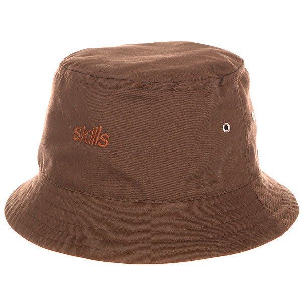 Панама Skills V Brown<br><br>Цвет: коричневый<br>Тип: Панама<br>Возраст: Взрослый<br>Пол: Мужской