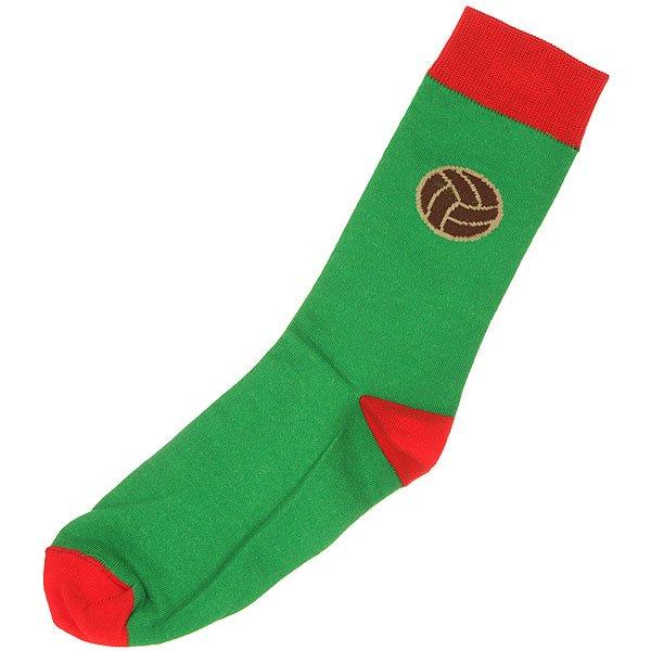 Носки средние Запорожец Футбол Зеленый