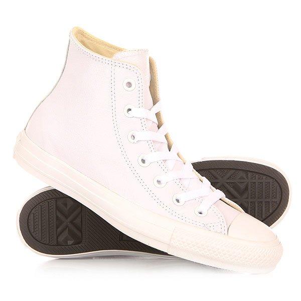 все цены на  Кеды кроссовки высокие Converse Chuck Taylor All Star White  в интернете