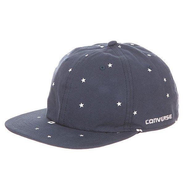 Бейсболка с прямым козырьком Converse Con009w Navy