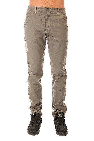 Штаны прямые Запорожец Classic Pants Olive<br><br>Цвет: серый<br>Тип: Штаны прямые<br>Возраст: Взрослый<br>Пол: Мужской