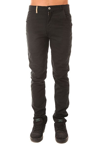 Штаны прямые Запорожец Classic Pants Black<br><br>Цвет: черный<br>Тип: Штаны прямые<br>Возраст: Взрослый<br>Пол: Мужской