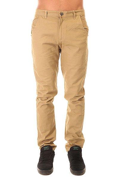 Штаны прямые Запорожец Classic Pants Beige<br><br>Цвет: бежевый<br>Тип: Штаны прямые<br>Возраст: Взрослый<br>Пол: Мужской
