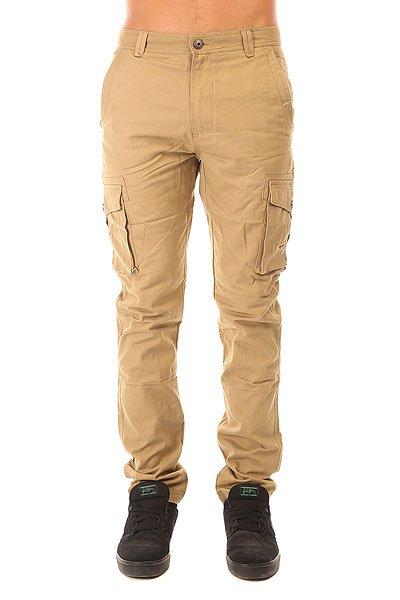Штаны прямые Запорожец Cargo Pants Beige<br><br>Цвет: бежевый<br>Тип: Штаны прямые<br>Возраст: Взрослый<br>Пол: Мужской