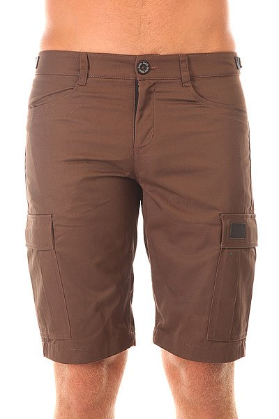 ����� ������������ Skills Cargo Shorts Strap Brown
