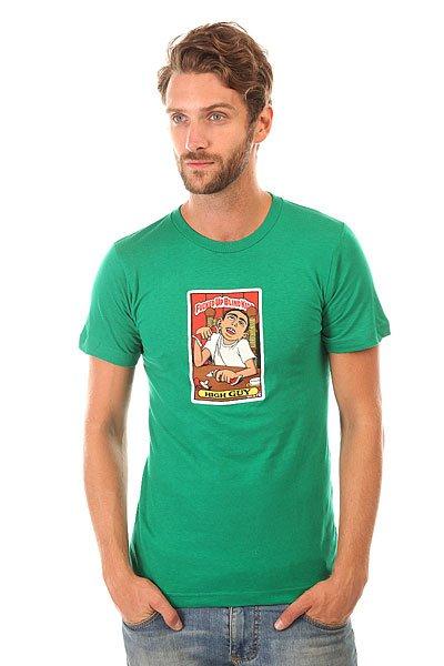 Футболка Blind High Guy Kelly Green<br><br>Цвет: зеленый<br>Тип: Футболка<br>Возраст: Взрослый<br>Пол: Мужской