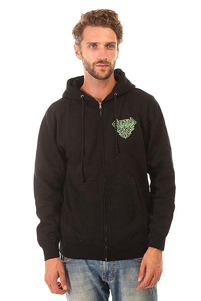 Толстовка классическая Creature Horde Black<br><br>Цвет: черный,зеленый<br>Тип: Толстовка классическая<br>Возраст: Взрослый<br>Пол: Мужской