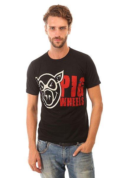 Футболка Pig Grunge Black<br><br>Цвет: черный<br>Тип: Футболка<br>Возраст: Взрослый<br>Пол: Мужской