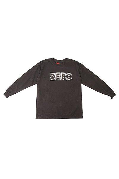Лонгслив детский Zero Blood Black<br><br>Цвет: черный<br>Тип: Лонгслив<br>Возраст: Детский