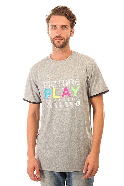 Футболка Picture Organic Basic Play Grey<br><br>Цвет: серый<br>Тип: Футболка<br>Возраст: Взрослый<br>Пол: Мужской