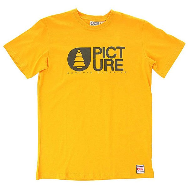Футболка детская Picture Organic Basement Start Yellow<br><br>Цвет: желтый<br>Тип: Футболка<br>Возраст: Детский