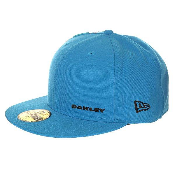 Бейсболка с прямым козырьком Oakley Jumbled New Era Fluid Blue