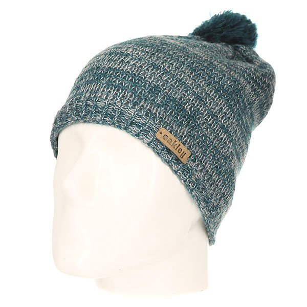 Шапка женская Oakley Madison Pom Pom Beanie Legion Blue