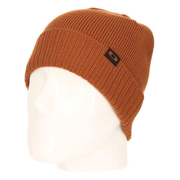 Шапка Oakley Sailor Beanie CinnamonВязаная шапка от Oakley  - мастхэв любого гардероба. Не дай себе замерзнуть!Характеристики:Изготовлена из 100% акрила. Широкий отворот. Логотип-нашивка на лицевой части.<br><br>Цвет: коричневый<br>Тип: Шапка<br>Возраст: Взрослый<br>Пол: Мужской