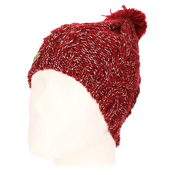 ����� ������� Oakley Snow Ridge Pom Beanie Redwood