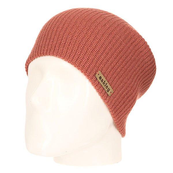 Шапка носок женская Oakley Avenue Classic Beanie Deep BlushВязаная шапка от Oakley  - мастхэв любого гардероба. Не дай себе замерзнуть!Характеристики:Изготовлена из 100% акрила. Вязаный рисунок. Логотип-нашивка на лицевой части.<br><br>Цвет: розовый<br>Тип: Шапка носок<br>Возраст: Взрослый<br>Пол: Женский