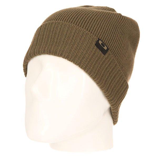 Шапка Oakley Sailor Beanie Worn OliveВязаная шапка от Oakley  - мастхэв любого гардероба. Не дай себе замерзнуть!Характеристики:Изготовлена из 100% акрила. Вязаный рисунок. Логотип-нашивка на лицевой части.<br><br>Цвет: зеленый<br>Тип: Шапка<br>Возраст: Взрослый<br>Пол: Мужской