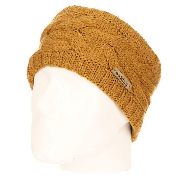 Повязка Oakley Clear View Headband CopperТеплая повязка на голову из мягкого акрила с рельефным узором. Отличный вариант для прохладной погоды!Технические характеристики: Рельефный узор.Вязаная резинка с двух сторон для более плотной посадки.Логотип Oakley.<br><br>Цвет: коричневый<br>Тип: Повязка<br>Возраст: Взрослый<br>Пол: Мужской