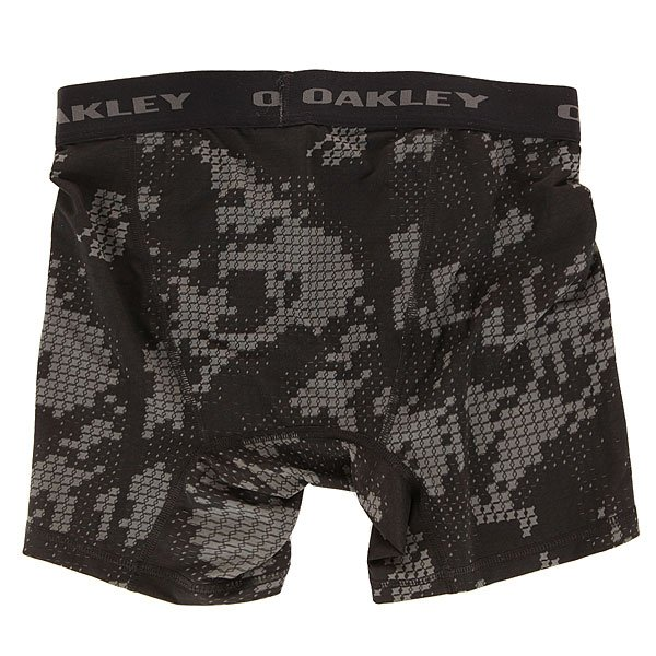 ����� Oakley P.e. Boxer Brief Jet Black