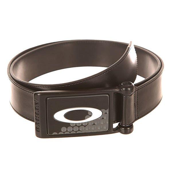 Ремень Oakley Ellipse Leather Belt Black/White