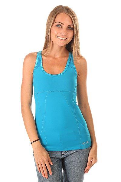 Майка женская Oakley Endurance Tank Lagoon Blue<br><br>Цвет: голубой<br>Тип: Майка<br>Возраст: Взрослый<br>Пол: Женский