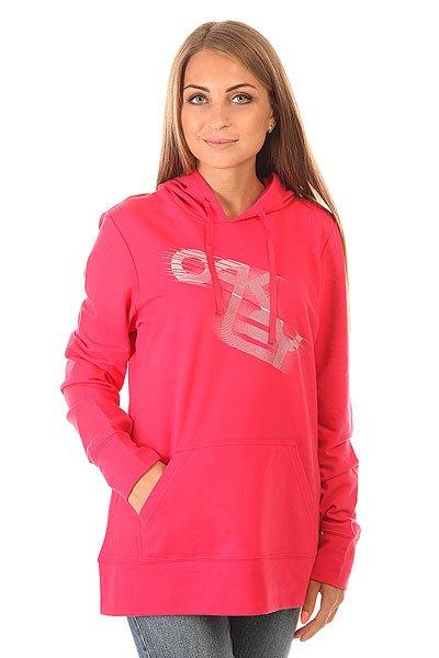 Толстовка кенгуру женская Oakley Grooves Hoody Bright Fuchsia<br><br>Цвет: розовый<br>Тип: Толстовка кенгуру<br>Возраст: Взрослый<br>Пол: Женский