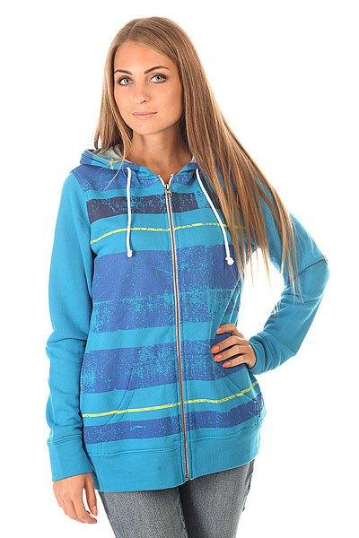 Толстовка классическая женская Oakley Line Up Lagoon Blue<br><br>Цвет: голубой<br>Тип: Толстовка классическая<br>Возраст: Взрослый<br>Пол: Женский