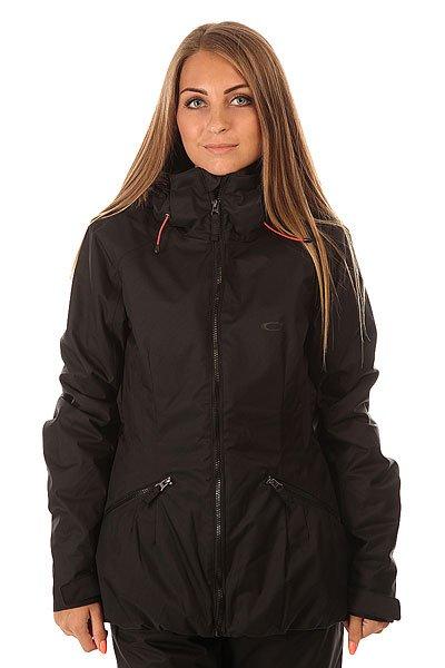 Куртка женская Oakley Foxglove Jacket Jet BlackСтильная куртка, в которой Вы будете чувствовать себя уютно, как на склоне, так и в городе. Благодаря утеплителю Thinsulate, куртка сохранит тепло даже при низких температурах, а система Hydrogauge 10 и проклеенные швы создают надежный барьер препятствующий попаданию влаги.Технические характеристики: Система Hydrogauge 10 препятствует попаданию влаги.Критические швы проклеены.Съемная меховая отделка на капюшоне.Вентиляционные отверстия на молнии Pit Zip.Снежная юбка.Удобные карманы для рук на молнии.Регулируемые манжеты.Эластичный подол обеспечивает плотное прилегание и дополнительную защиту от снега.<br><br>Цвет: черный<br>Тип: Куртка утепленная<br>Возраст: Взрослый<br>Пол: Женский