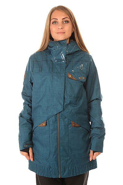 Куртка женская Oakley Village Jacket Legion Blue куртка женская oakley lines jacket purple shade