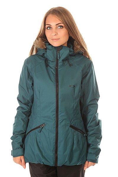 Куртка женская Oakley Foxglove Jacket Legion BlueУдобная сноубордическая куртка.Рассчитана для катания на сноуборде, лыжах и просто прогулок по городу.Характеристики:Мембрана Hydrogauge 10K.Утеплитель: Thinsulate 80 гр.Критические швы проклеены. Надежный фиксированный капюшон Fulltime Contour со съемным мехом. Защита подбородка от натирания молнией из микрофибры. Карман для скипасса. Карман для маски. Карман для MP3.Фиксированная противоснежная «юбка». Вентиляционные отверстия на молниях подмышками. Регулируемые манжеты на липучках. Застежка – молния+кнопки.Накладные боковые карманы на молниях.<br><br>Цвет: синий<br>Тип: Куртка утепленная<br>Возраст: Взрослый<br>Пол: Женский