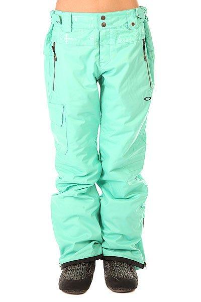 Штаны сноубордические женские Oakley Village Pant Biscay Green