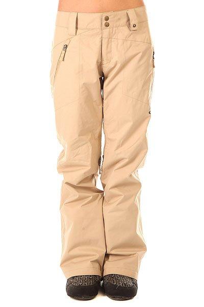 Штаны сноубордические женские Oakley Brookside Pant Almond