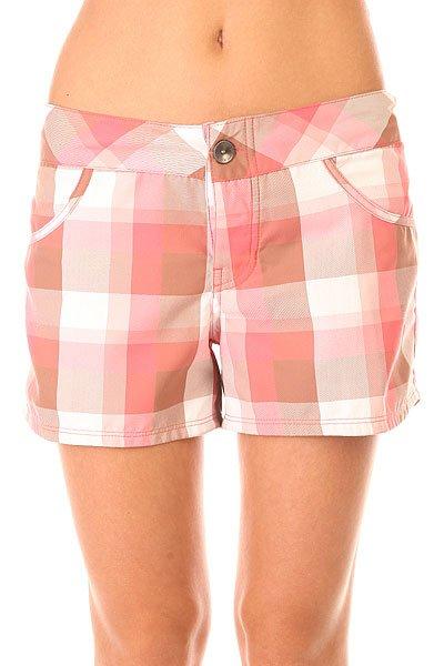 Шорты пляжные женские Oakley Short Board Coral Pink