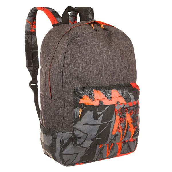 Рюкзак городской Quiksilver Night Track Labyrinth GreenПрактичный городской рюкзак со свободной организацией пространства с карманом для ноутбука для дополнительного удобства.Технические характеристики: Большое основное отделение.Внутренний отсек для ноутбука 15.Передний карман на молнии.Мягкие лямки.Логотип Quiksilver.<br><br>Цвет: серый,черный<br>Тип: Рюкзак городской<br>Возраст: Взрослый