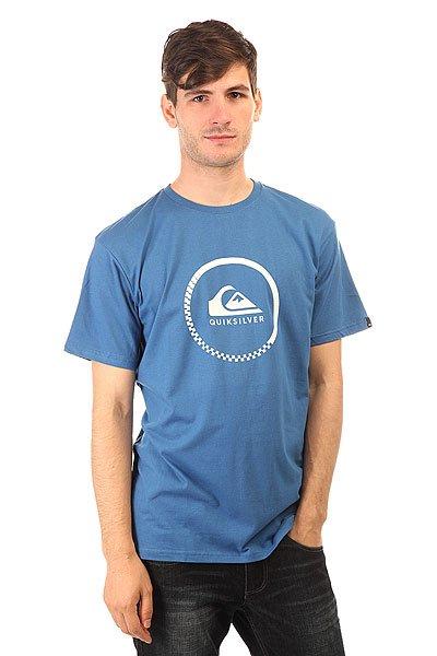 Футболка Quiksilver Clastessactivlo Star Sapphire<br><br>Цвет: синий<br>Тип: Футболка<br>Возраст: Взрослый<br>Пол: Мужской