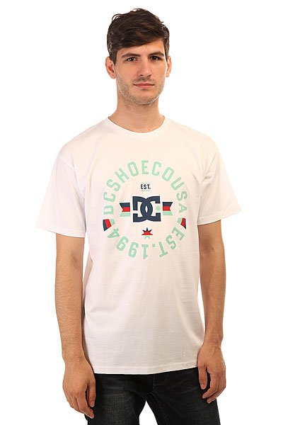 Футболка DC Shoes Emblem 1994 White