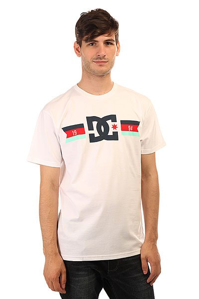 Футболка DC Shoes Flagged White
