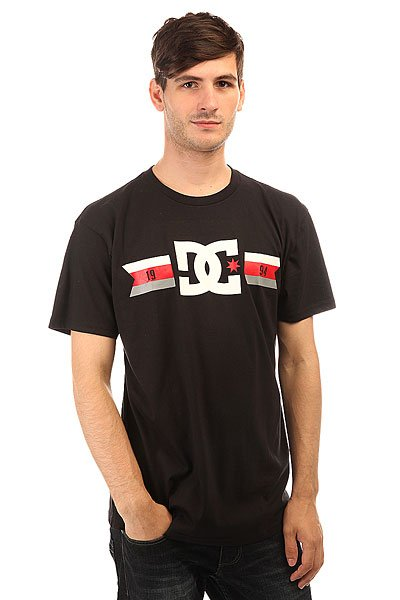 Футболка DC Shoes Flagged Black