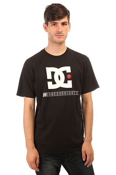 Футболка DC Shoes Flag Star Black