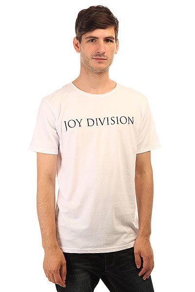 Футболка Quiksilver Joy Div Logo White quiksilver шорты пляжные quiksilver incline logo bdsh incline logo hawaiia