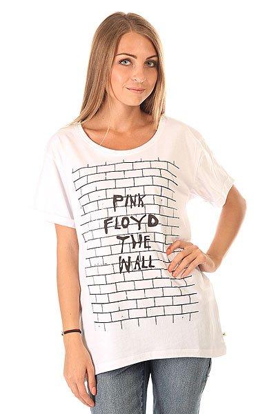 Футболка женская Roxy Pink Floyd White<br><br>Цвет: белый<br>Тип: Футболка<br>Возраст: Взрослый<br>Пол: Женский