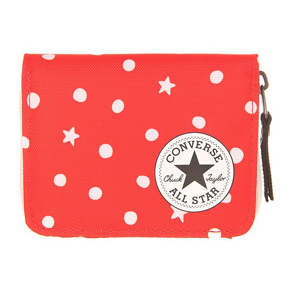 Кошелек Converse Zip Wallet Pb Red