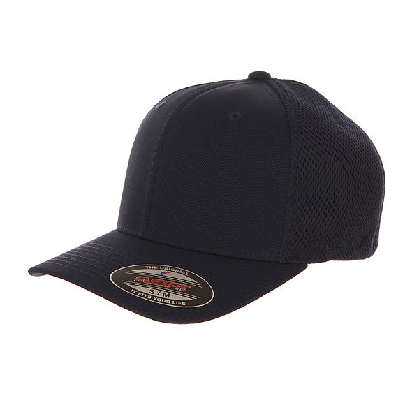 Бейсболка классическая Flexfit 6533 Navy бейсболка flexfit independent stock o g b c  flexfit black