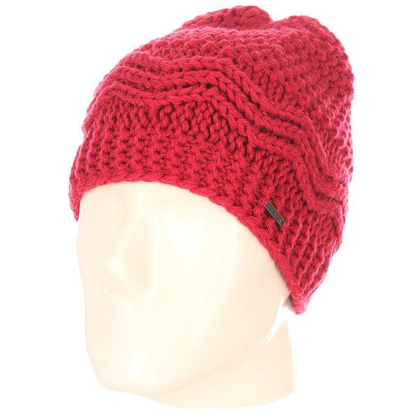 Шапка женская Roxy Stay J SangriaТеплая мягкая шапка из акрила крупной вязки отлично согреет в холодные зимние. Выполненная в спокойных тонах, она будет хорошо сочетаться с любой одеждой из Вашего гардероба.Характеристики:Крупная вязка. Флисовая подкладка.<br><br>Цвет: розовый<br>Тип: Шапка<br>Возраст: Взрослый<br>Пол: Женский
