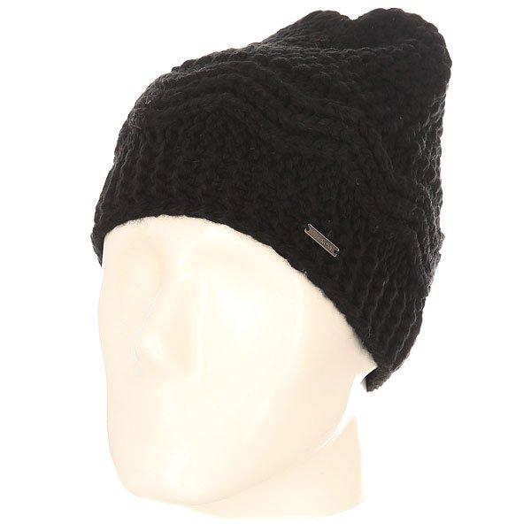 Шапка женская Roxy Stay J True BlackТеплая мягкая шапка из акрила крупной вязки отлично согреет в холодные зимние. Выполненная в спокойных тонах, она будет хорошо сочетаться с любой одеждой из Вашего гардероба.Характеристики:Крупная вязка. Флисовая подкладка.<br><br>Цвет: черный<br>Тип: Шапка<br>Возраст: Взрослый<br>Пол: Женский
