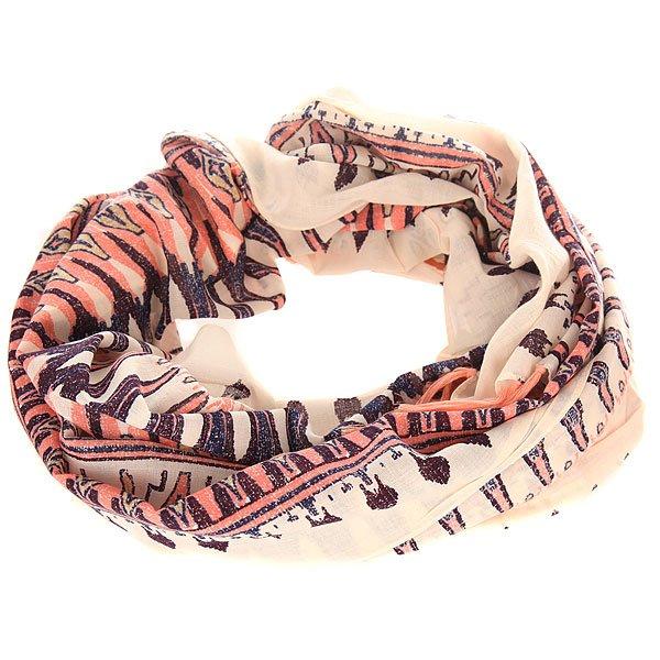 Шарф женский Roxy Happiest Sayra PristineСтильный шарф от Roxy в ярком дизайне прекрасно дополнит Ваш образ. Этот практичный аксессуар, выполненный из мягкого приятного текстиля, отлично подходит для сезона осень-весна.Характеристики:Мягкий на ощупь текстиль.Яркий дизайн. Логотип Roxy.<br><br>Цвет: мультиколор<br>Тип: Шарф<br>Возраст: Взрослый<br>Пол: Женский