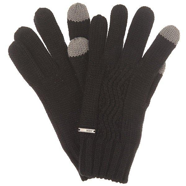 Перчатки женские Roxy Stay J Glov True BlackЭти вязаные перчатки относятся к той категории вещей, которые должны быть в осеннем гардеробе каждой девушки. Простые, практичные и отлично сочетаются с любым стилем в одежде. Характеристики:Эластичные манжеты. Стандартная длина.Вышитый логотип Roxy.<br><br>Цвет: черный<br>Тип: Перчатки<br>Возраст: Взрослый<br>Пол: Женский