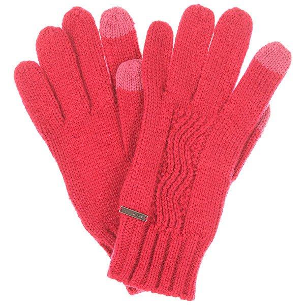 Перчатки женские Roxy Stay J Glov SangriaЭти вязаные перчатки относятся к той категории вещей, которые должны быть в осеннем гардеробе каждой девушки. Простые, практичные и отлично сочетаются с любым стилем в одежде. Характеристики:Эластичные манжеты. Стандартная длина.Вышитый логотип Roxy.<br><br>Цвет: розовый<br>Тип: Перчатки<br>Возраст: Взрослый<br>Пол: Женский