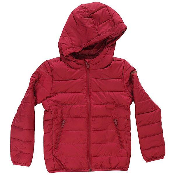 Куртка зимняя детская Roxy Question Red PlumМягкая, стеганая куртка с капюшоном от Roxy.Технические характеристики: Стеганый дизайн.Водостойкая ткань с двухсторонней обработкой.Карманы для рук на молнии.Кожаная нашивка на рукаве с логотипом Roxy.<br><br>Цвет: бордовый<br>Тип: Куртка зимняя<br>Возраст: Детский