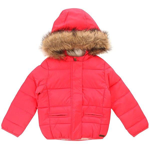 Куртка зимняя детская Roxy What Paradise Pink шапка женская roxy fjord paradise pink